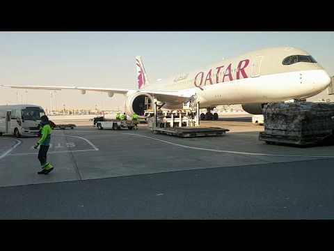 Доха, Катар. Международный аэропорт Хамад | Doha, Qatar. Hamad International Airport