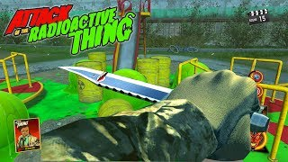 NEW SHARK KNIFE, MIND CONTROL GUN, & EASTER EGG! - ATTACK OF THE RADIOACTIVE THING