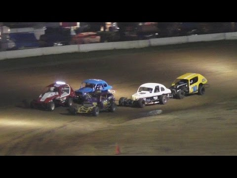 PA Vintage Modified Heat One | McKean County Raceway | Fall Classic | 10-14-16