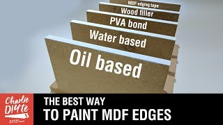 The BEST Way to Paint and Seal MDF Edges - Video #3