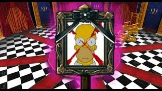 Danganronpa series portrayed by The Simpsons