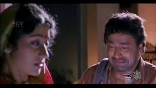 Repeat youtube video Sipayi Kannada Movie | Yajamaana Forces the servant | Kannada sentimental scene | Ravichandran