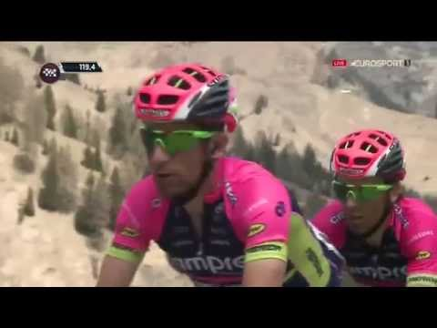 Giro d'Italia 2016. Stage 14. Epic battle in the great mountains
