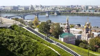 Нижний Новгород На Карте России - Nizhny Novgorod On the Russia map