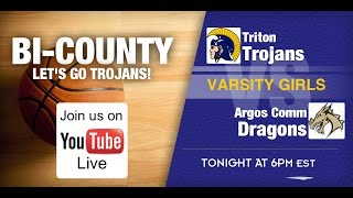 Triton at Argos - Varsity Girls Basketball Bi-County