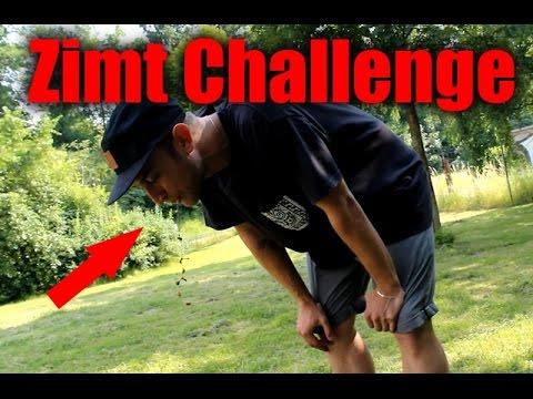 Zimt Challenge Tod