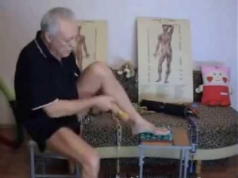 Массаж ног при сахарном диабете - YouTube