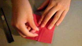 How To Make : Simple Origami Rose