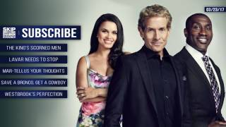 Happy Holidays from Skip Bayless, Shannon Sharpe and Joy Taylor   UNDISPUTED