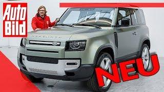 Land Rover Defender (2020): Auto - neu - Offroad-Ikone - 4x4