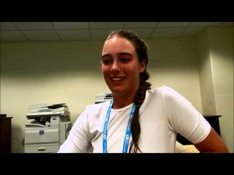 2012 US Open National Playoffs Interview: Alexandra Mueller, Women's Champion at New Haven Open