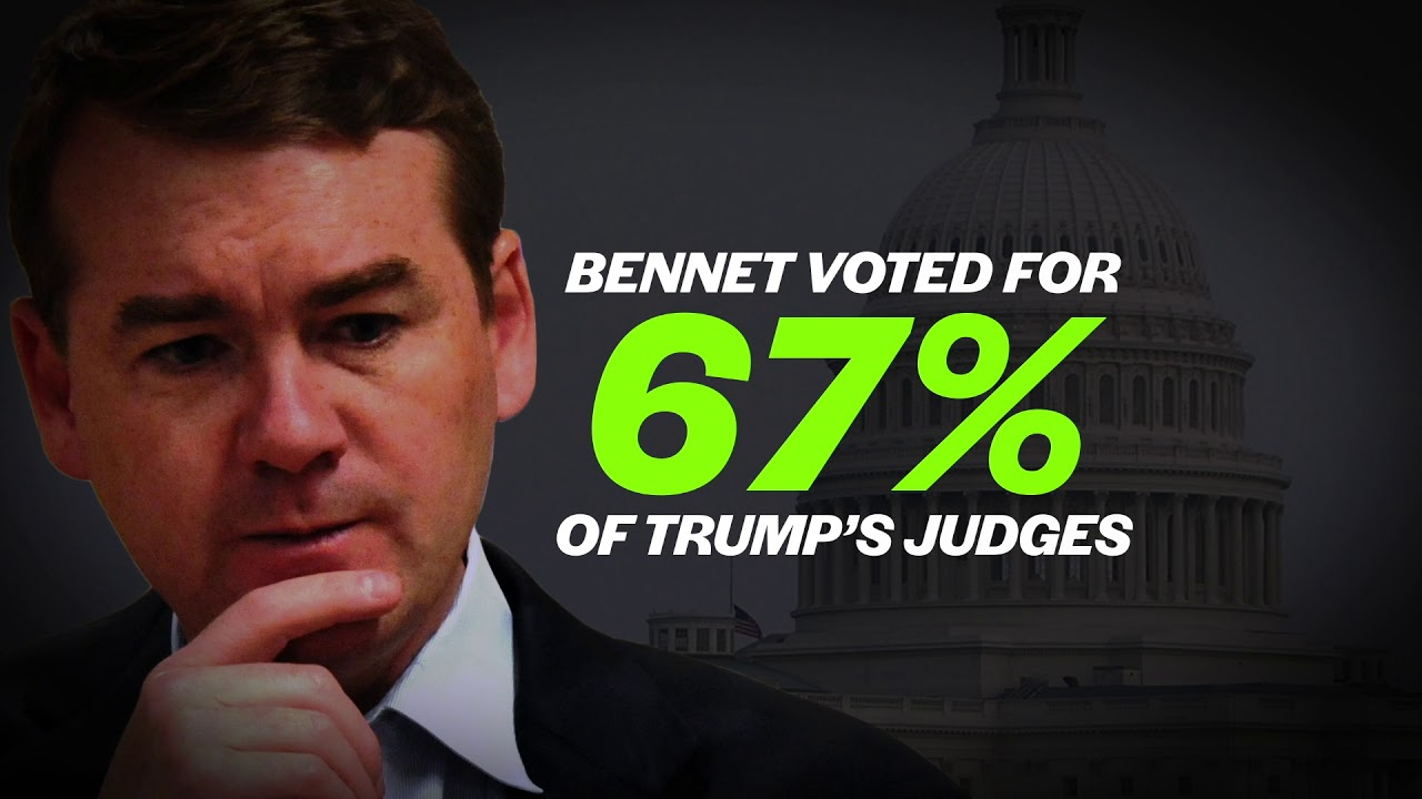 Michael Bennet-- Helping Trump is NOT a Good Look