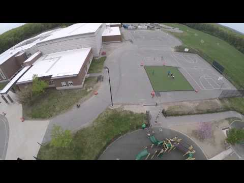 Drone Video Wood Hill Middle School