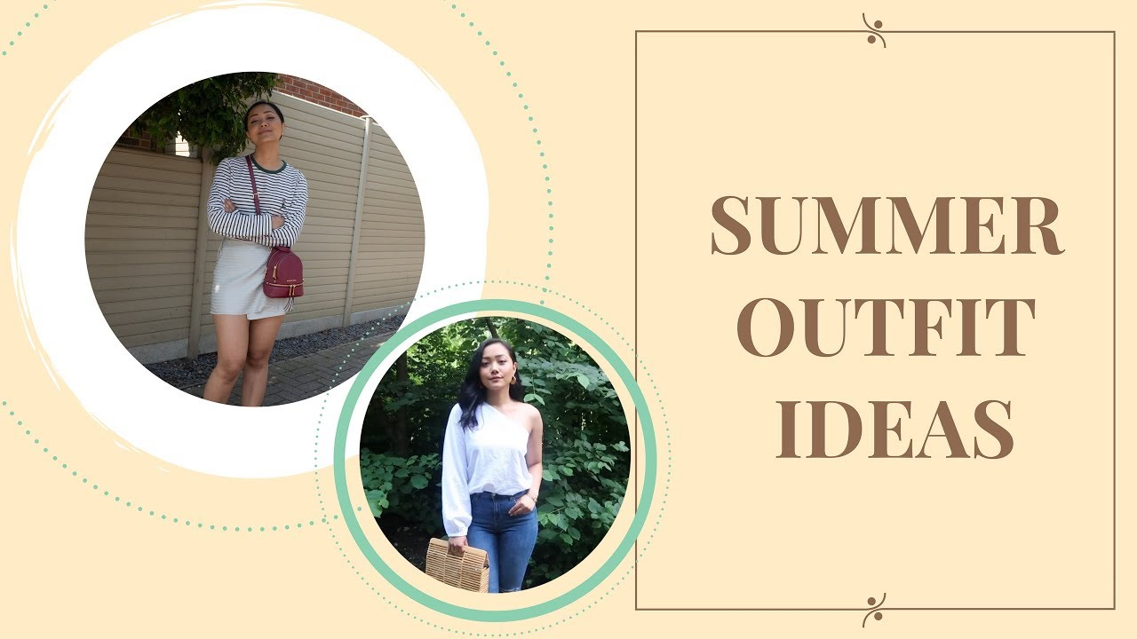 [VIDEO] - SUMMER OUTFIT IDEAS ☀️ 2