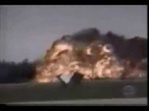 Jet / Plane crash footage caught on camera - YouTube