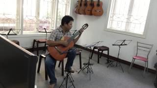 Tình Nồng - Lê Hùng Phong - Guitar Solo