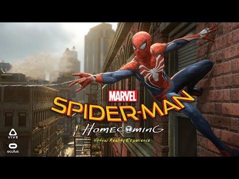 Trải nghiệm hóa thân thành Spider Man trong công nghệ thực tế ảo