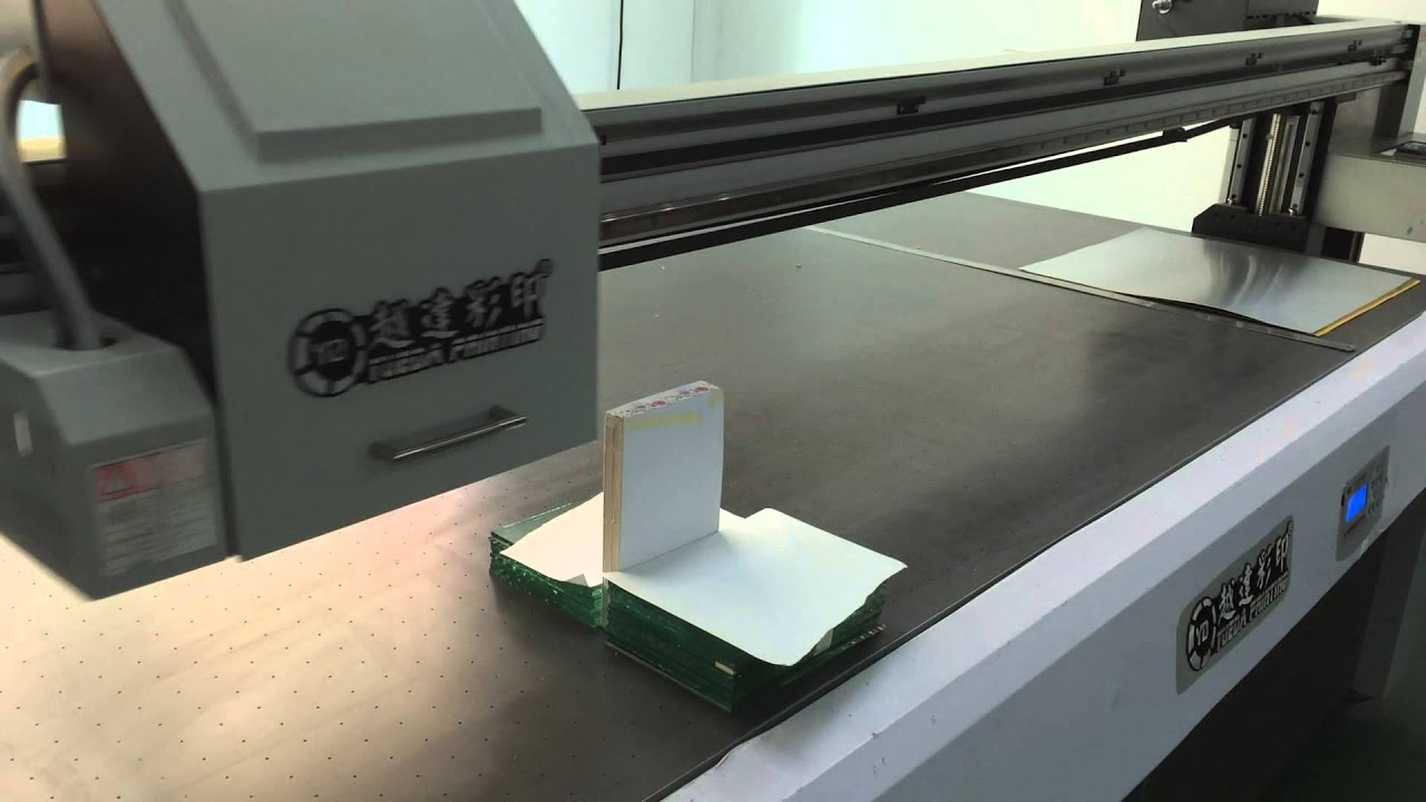 Colour book edges - Uv Flatbed Printer Print Directly On The Book Edge Paper Brick Video