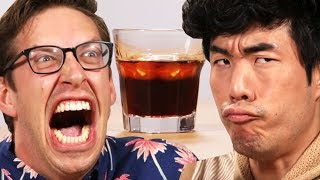 The guys try the grossest alcoholic drinks in all the land, according to the internet. Comedy, pain, and barfing ensue. You have been warned! Support us!