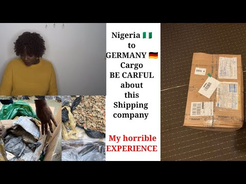 BE CARFUL About this Shipping Company // Shipping From Nigeria 🇳🇬 to Germany 🇩🇪 // MY Story