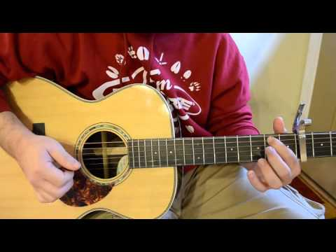 Big Daddy Weave Acoustic Lesson - Redeemed - YouTube
