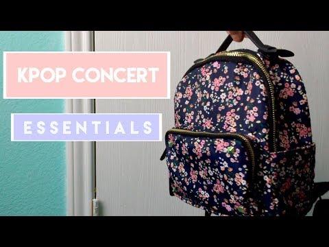 kpop concert essentials | svt ver  - YouTube
