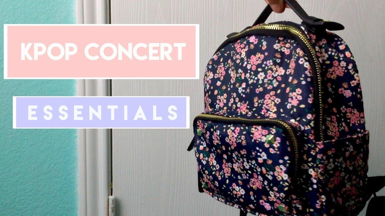 kpop concert essentials   svt ver