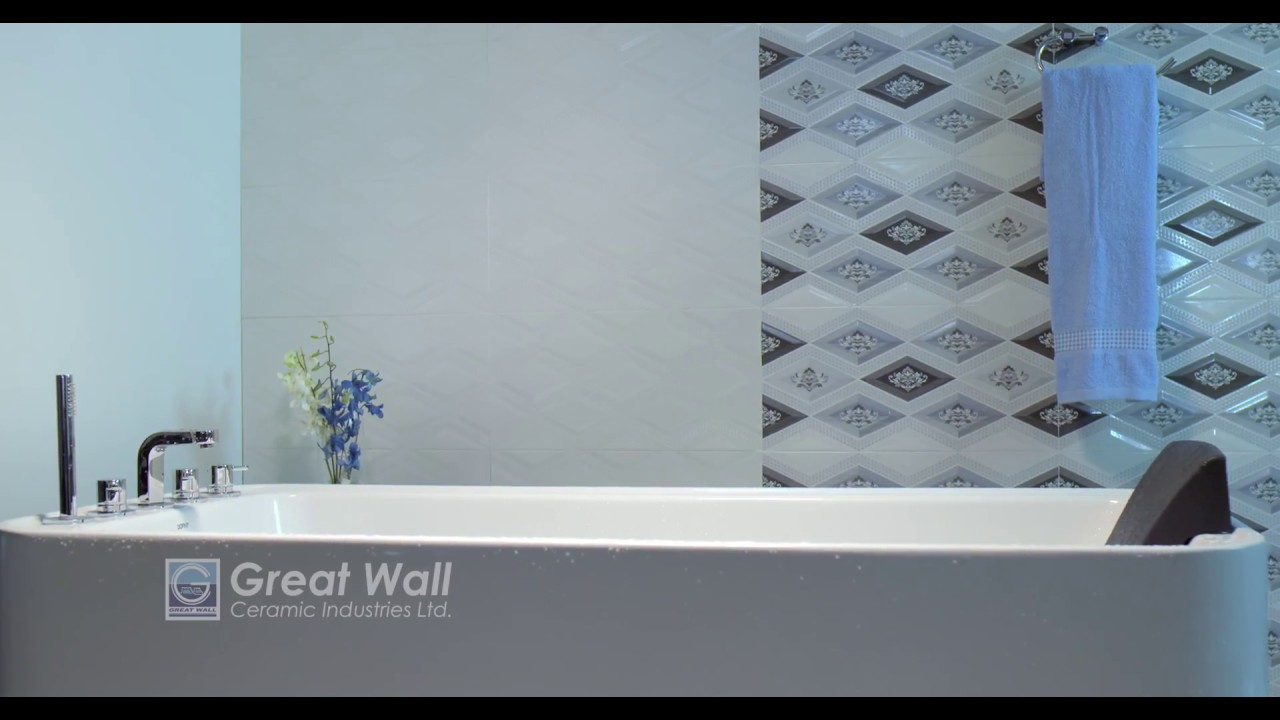 Bathroom tiles Greatwall Ceramics TVC - YouTube