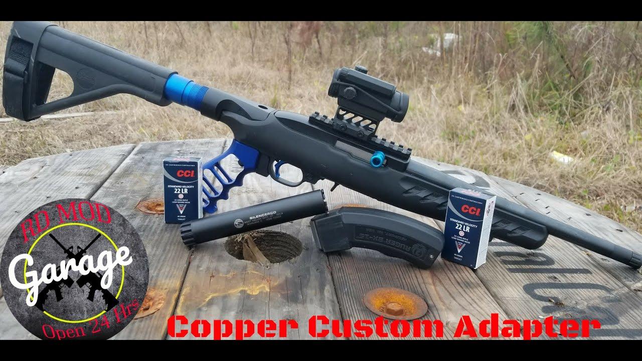 Copper Custom Ruger 10 22 Charger