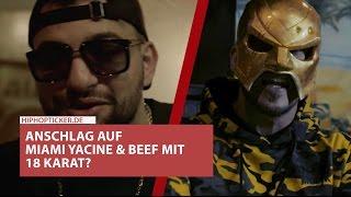 Miami Yacine von Maskierten angefahren & überfallen: Beef mit 18 Karat? Großes Statement!