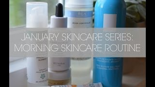MORNING SKINCARE ROUTINE I BEAUTY AND THE BAKE Thumbnail
