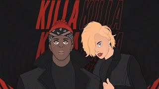 KSI - Killa Killa (feat. Aiyana-Lee) [Official Lyric Video]