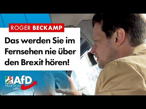 Das werden Sie im TV nie über den Brexit hören! [Untertitel einschalten!] – Roger Beckamp (AfD)