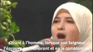 Sümeyye Eddeb Sourate  89 - Al-Fajr : L