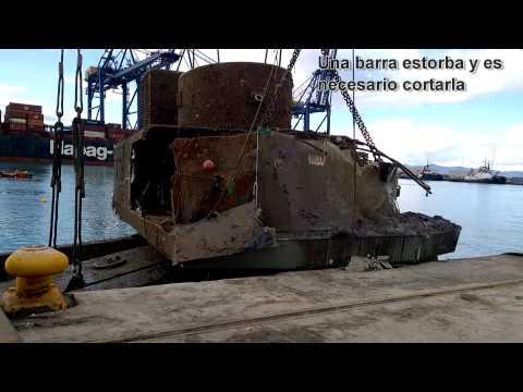RESCATE GRÚA PORTUARIA LHM550 (PUERTO DE VALENCIA)
