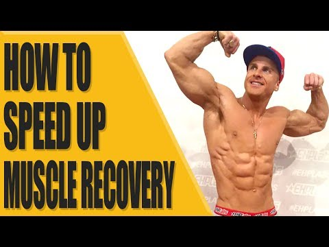 How to speed up muscle recovery?