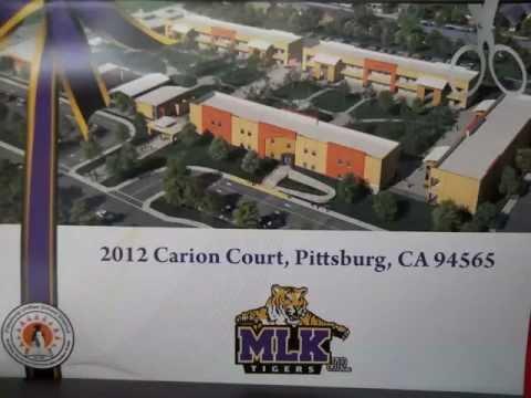 Martin Luther King Jr Junior High School Opening