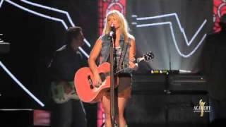 2011 ACM Awards Miranda Lambert prepares for the show backstages