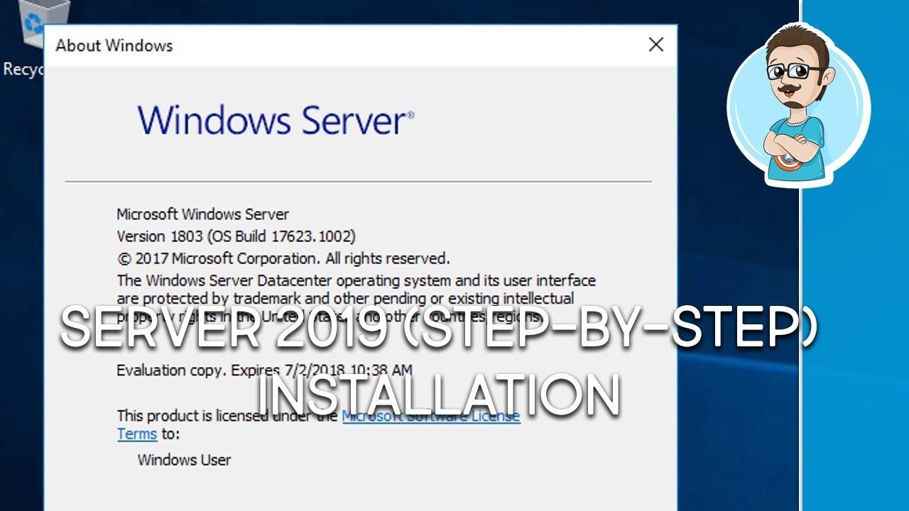 Windows Server 2019 Installation Guide!