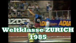 WELTKLASSE ZURICH 1985