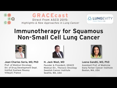 Immunotherapy for Squamous Non-Small Cell Lung Cancer
