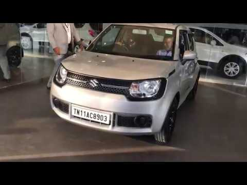 Maruti Suzuki Ignis Sigma Petrol: Taking Delivery from Nexa dealership Chennai