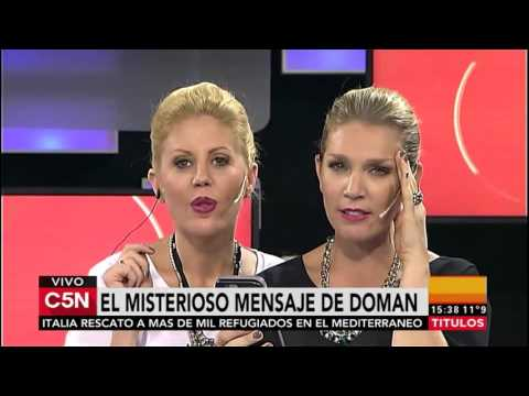 Barbie Simons y Melina Fleiderman de C5n tuvieron que disculparse con Fabián Doman