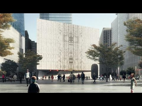 New Ground Zero Performing-Arts Center Designs Revealed