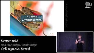 Férfi orgazmus kontroll | Klettner Anikó