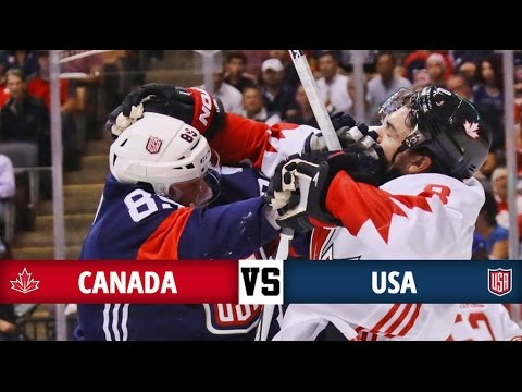 Canada vs USA - World Cup of Hockey 2016 - All Goals (20/9/16)