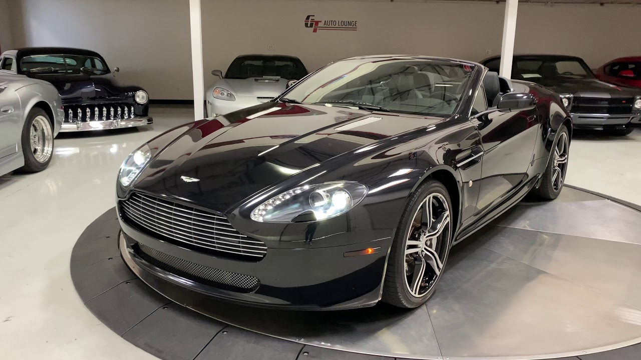 2008 Aston Martin Vantage N400 Roadster For Sale At Gt Auto Lounge Youtube