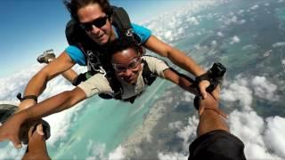 Dennis goes Skydiving in San Pedro, Belize
