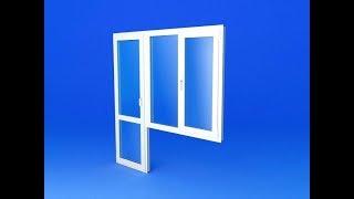 видео Выбираем балконный блок