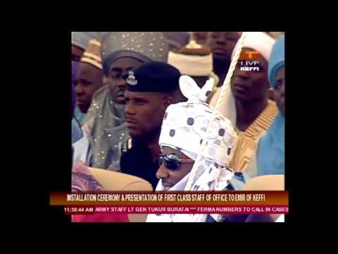 Installation and Presentation of Staff of Office to the Emir of Keffi